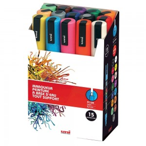 Set 15 Posca PC5M pointe moyenne