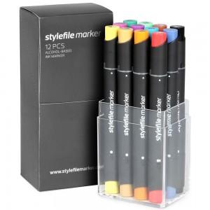 Stylefile Marker Set 12-A
