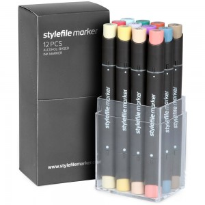 Stylefile Marker Set 12-C