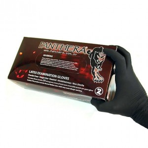 Boite 100 Gants Latex Noir Panthera