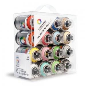 Coffret 16 couleurs MTN Water Based 100
