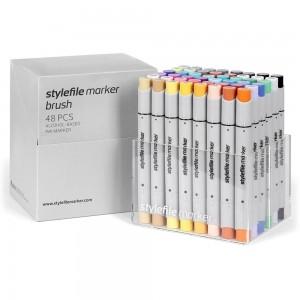 Stylefile Marker Brush Set 48-A