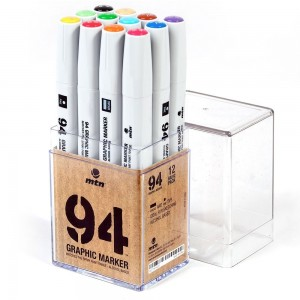 MTN 94 Graphic Marker Set 12 Basic