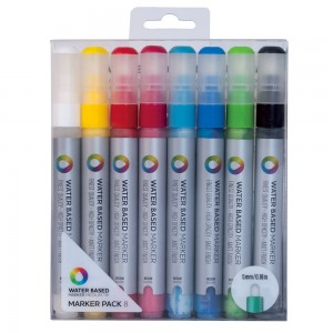 MTN Water Based Marker 5mm Set 8