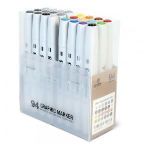 MTN 94 Graphic Marker Set 24 Basic+Grey