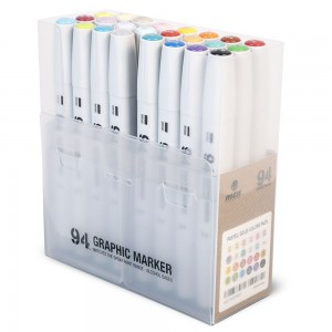 MTN 94 Graphic Marker Set 24 Basic+Pastel