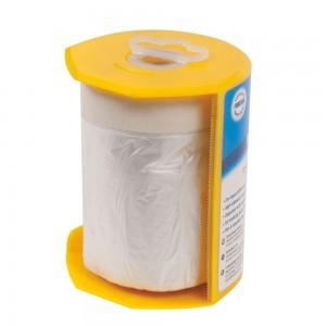 Film de protection adhésif avec dévidoir rechargeable