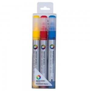 MTN Water Based Marker 3mm Set 3 Primaire