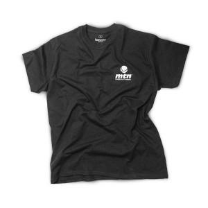 MTN t-shirt Basic Logo Front Back noir
