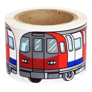 FLUX 200 stickers métro Londres