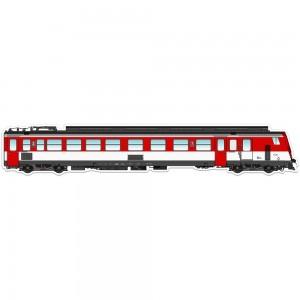 Metro Magnetz TER Z2 rouge