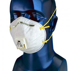 Masque coque 3M 8812 anti-poussière FFP1