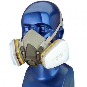 Masque respiratoire 3M 6000 A1 P2 kit complet
