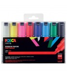 Set 8 Posca PC8K pointe large