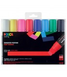Set 8 Posca PC17K pointe extra-large
