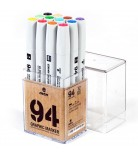 MTN 94 Graphic Marker Set 12 Basic