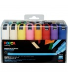 Set 16 Posca PC8K pointe large