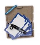 Pack MTN WTF Marker + Eggshell Stickers Blue Frame