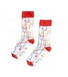 Chaussettes MTN Socks Metro blanc