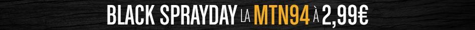 Black Sprayday 2020 MTN 94